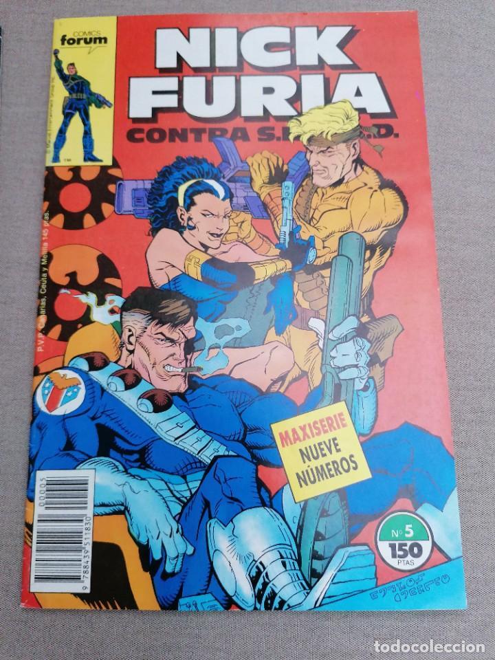 Cómics: Lote de 8 revistas de Nick furia - Foto 7 - 265544879