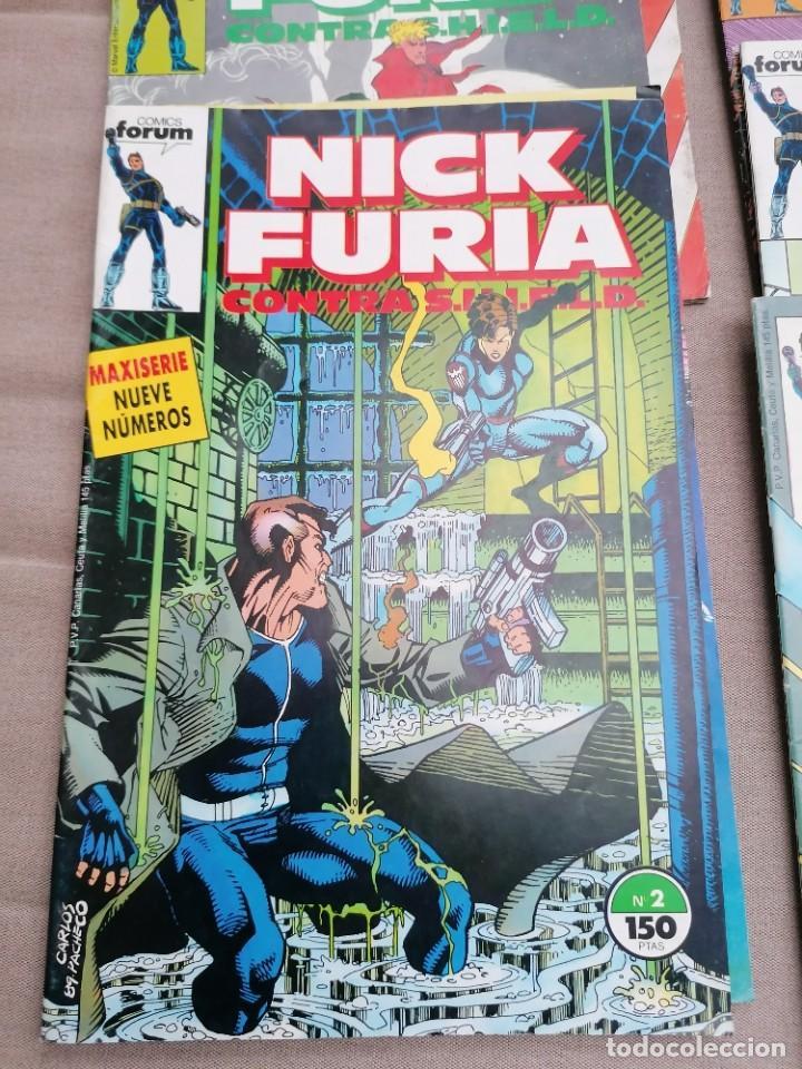 Cómics: Lote de 8 revistas de Nick furia - Foto 8 - 265544879