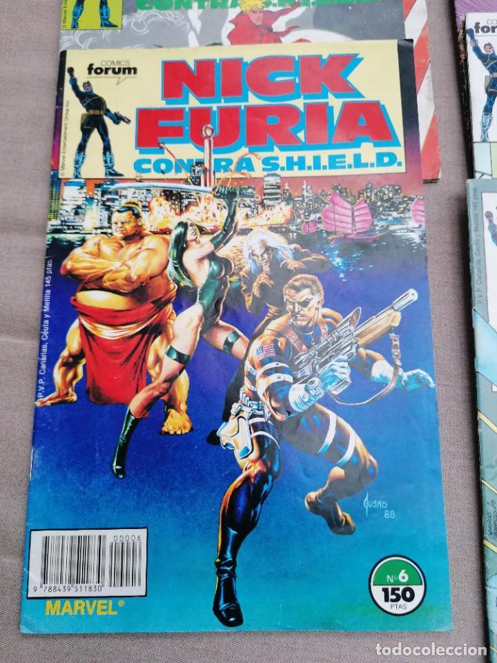 Cómics: Lote de 8 revistas de Nick furia - Foto 9 - 265544879