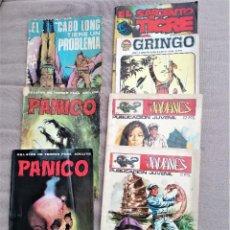 Cómics: LOTE DE COMICS VARIADOS GRINGO, JAVANES, PÁNICO Y ALGUNO MAS. Lote 265558844