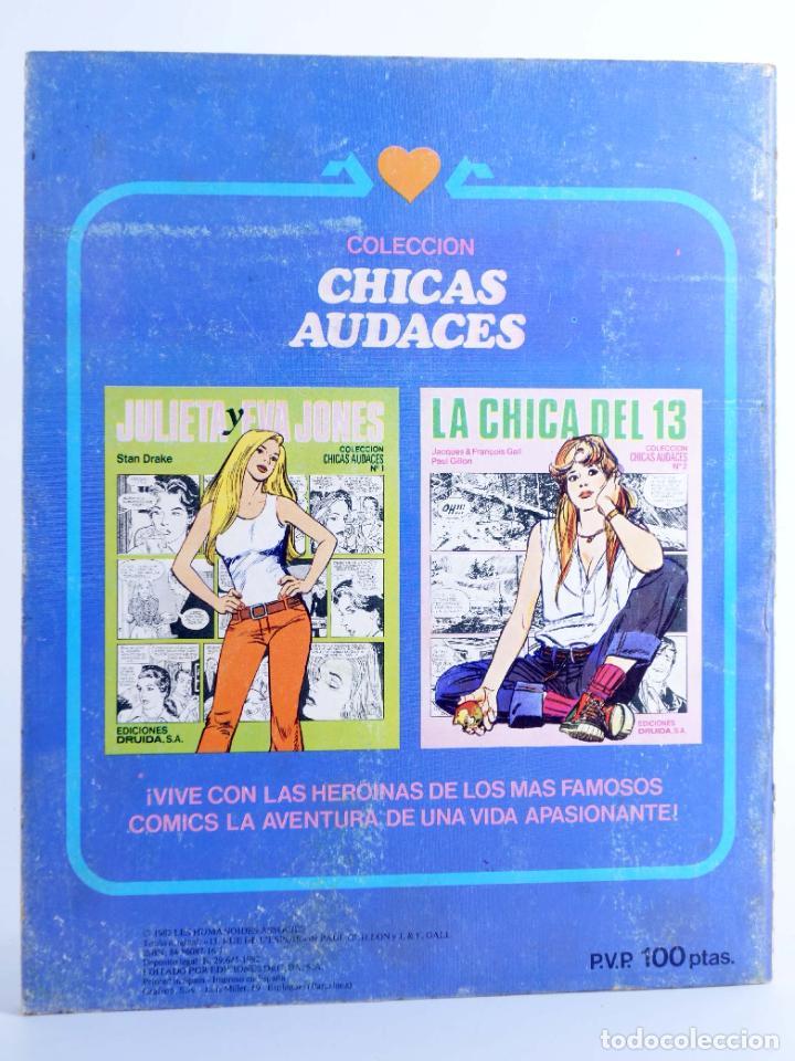 Cómics: CHICAS AUDACES 7. JULIETA Y EVA JONES (Stan Drake) Druida, 1982. OFRT - Foto 2 - 266050493