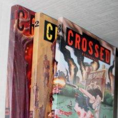 Cómics: CROSSED TOMOS 01(GARTH ENNIS & J.BURROWS) + TOMOS 02 Y 03: (DAVID LAPHAM.).COLECCION AVATAR. Lote 266433493