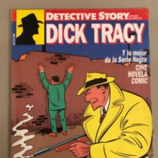 Cómics: DETECTIVE STORY N 5, DICK TRACY Y OTROS 5 COMICS COMPLETOS. Lote 266487388