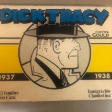 """Cómics: DICK TRACY- CHESTER GOULD """" EL HOMBRE SIN CARA-INMIGRACIÓN CLANDESTINA"""",1937-1938,DISTRICOMICS. Lote 266507033"""