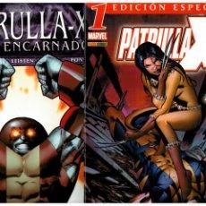 Comics: PATRULLA X. VOL. 3 - COMPLETA - 77 NÚMEROS. MARVEL PANINI.. Lote 266594798