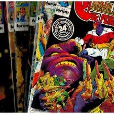 Comics : LOS CABALLEROS DE PENDRAGÓN. COMPLETA 18 NÚMEROS 1 AL 18. FORUM.. Lote 266937644