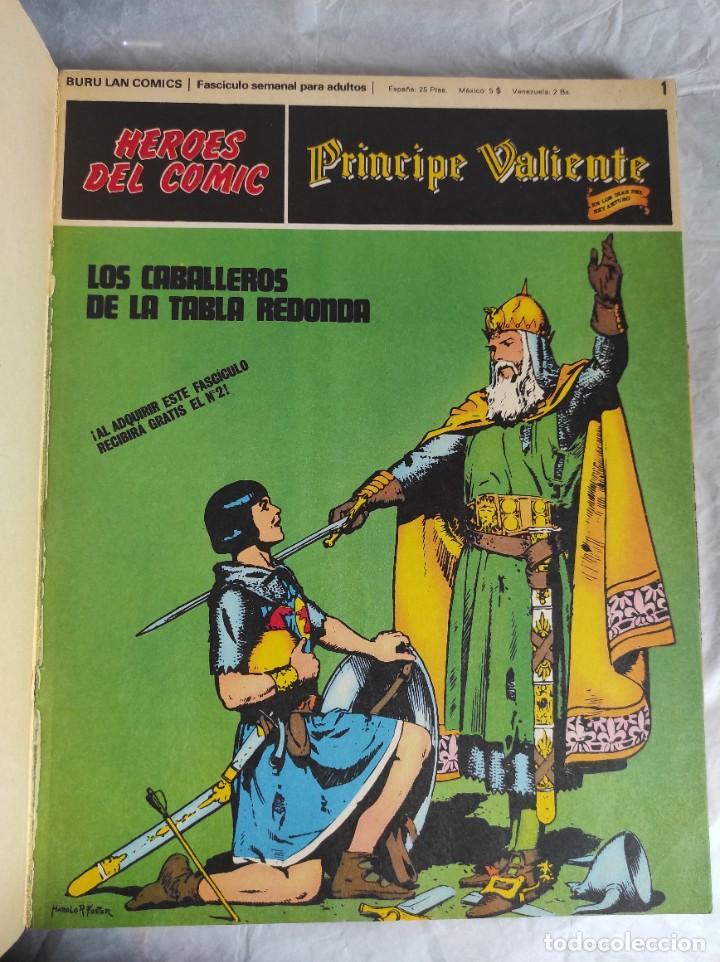 Cómics: Comic: PRINCIPE VALIENTE, Tomo 1, Fascículos 1 al 6 - Buru Lan - Foto 4 - 266950404