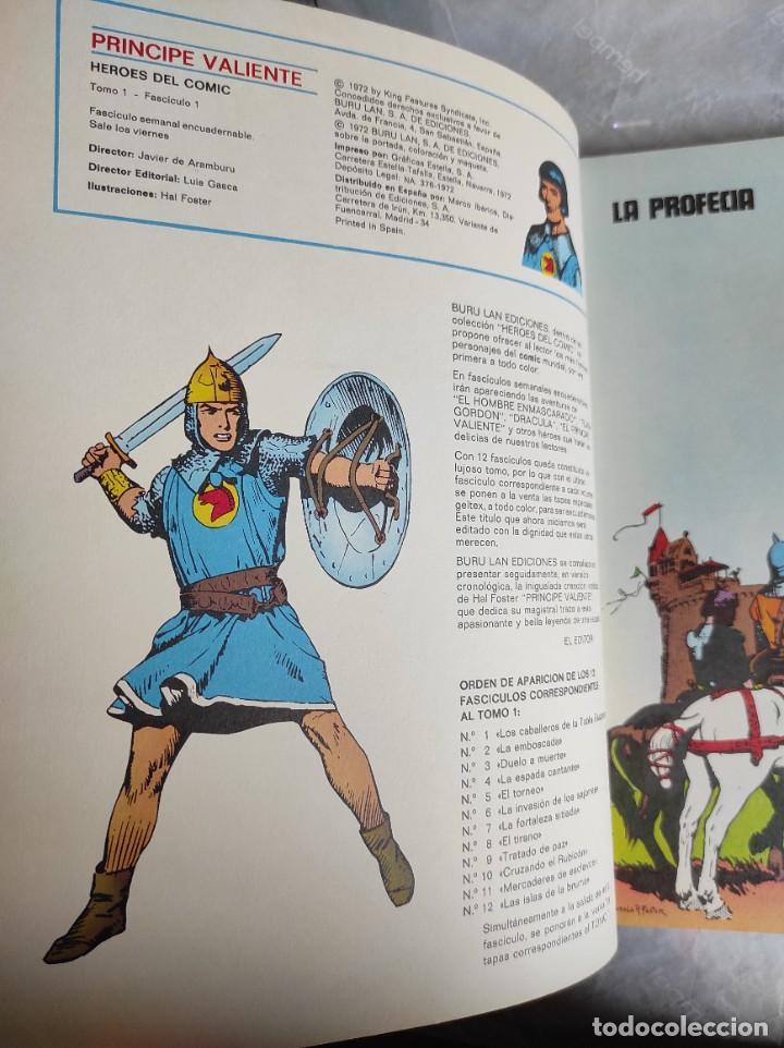 Cómics: Comic: PRINCIPE VALIENTE, Tomo 1, Fascículos 1 al 6 - Buru Lan - Foto 5 - 266950404