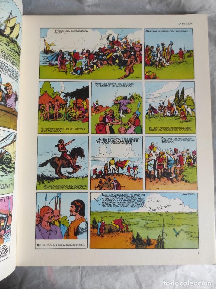 Cómics: Comic: PRINCIPE VALIENTE, Tomo 1, Fascículos 1 al 6 - Buru Lan - Foto 6 - 266950404