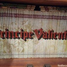 Cómics: PRINCIPE VALIENTE. DOLMEN. 74 VOLUMENES CONSECUTIVOS. Lote 266979434