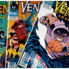 Comics : VENENO: LA LOCURA. SERIE LIMITADA DE 3 NÚMEROS. COMPLETA. FORUM.. Lote 267111009