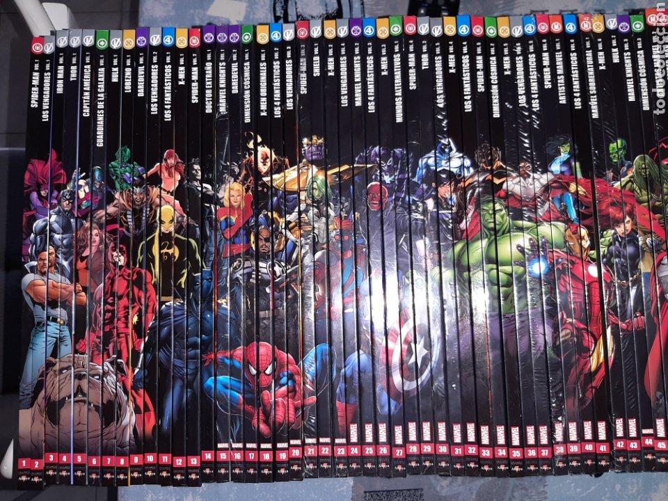 Cómics: Enciclopedia Marvel , Altaya, 110 volúmenes COMPLETA - Foto 2 - 267275259
