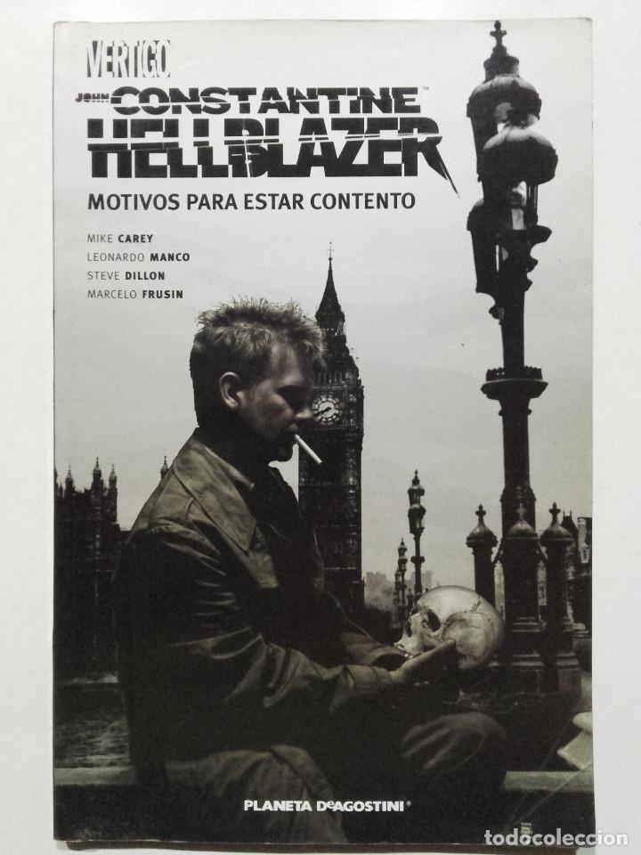 HELLBLAZER JOHN CONSTANTINE MOTIVOS PARA ESTAR CONTENTO, VERTIGO, PLANETA AGOSTINI, 2006 (Tebeos y Comics - Comics otras Editoriales Actuales)