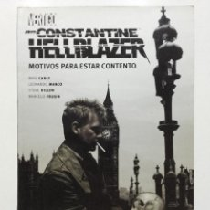 Cómics: HELLBLAZER JOHN CONSTANTINE MOTIVOS PARA ESTAR CONTENTO, VERTIGO, PLANETA AGOSTINI, 2006. Lote 264227888