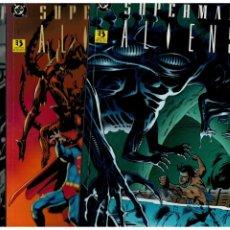 Comics: SUPERMAN VS. ALIENS. COMPLETA 3 TOMOS. LIBROS UNO,DOS Y TRES. ZINCO. EXCELENTES.. Lote 267451264