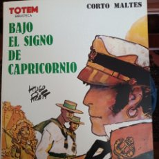 Cómics: CORTO MALTES - BAJO EL SIGNO DE CAPRICORNIO, DE HUGO PRATT. Lote 267465284