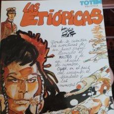 Cómics: LAS ETIOPICAS, DEL PERSONAJE CORTO MALTES, DE HUGO PRATT. Lote 267471274