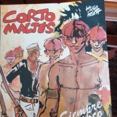 Cómics: CORTO MALTES, SIEMPRE UN POCO MAS LEJOS, DE HUGO PRATT. Lote 267471874