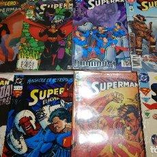 Cómics: SUPERMAN - LOTE 8 TOMOS PRESTIGIO DC COMICS AÑOS 90- NUEVOS. Lote 267510059