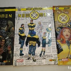 Cómics: LOTE 3 TOMOS Nº 1-4-5 NEW X-MEN GRANT MORRISON-NUEVOS. Lote 267510839