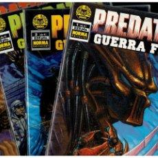 Fumetti: PREDATOR. GUERRA FRIA - COMPLETA 4 NÚMEROS 1 AL 4. NORMA. MUY BUENOS.. Lote 267712349