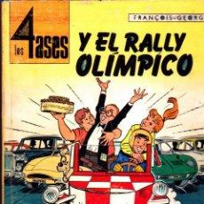 Cómics: COMIC COLECCION LOS 4 ASES Y EL RALLY OLIMPICO EDITORIAL OIKOS-TAU. Lote 267772999