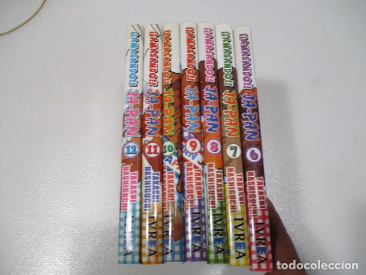 TAKASHI HASHIGUCHI AMASANDO JAPAN (7 TOMOS DEL 6 AL 12) W7407 (Tebeos y Comics - Comics Pequeños Lotes de Conjunto)