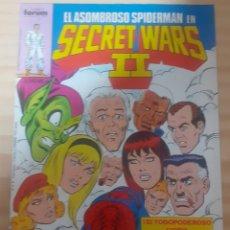 Cómics: EL ASOMBRO DE SPIDER MAN EN SECRET WARS II N48. Lote 268150894