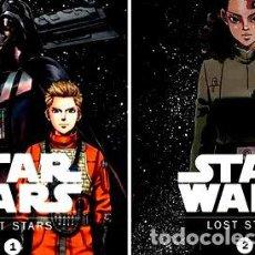 Cómics: LIBRO PANINI ARGENTINA STAR WARS MANGA LOST STARS 1 Y 2. Lote 268324694