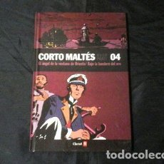 Cómics: CORTO MALTES 4 EL ANGEL DE LA VENTANA DE ORIENTE ED. 2008 - HUGO PRATT. Lote 268346964