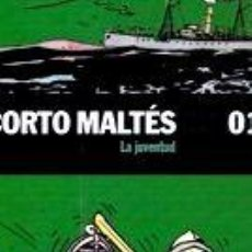 Cómics: LIBRO CORTO MALTES 1 LA JUVENTUD HUGO PRATT - HUGO PRATT. Lote 268388479