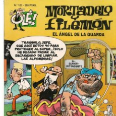 Cómics: OLÉ!. Nº 93. MORTADELO Y FILEMÓN. EL ÁNGEL DE LA GUARDA. PORTADA RELIEVE. EDICIONES B. (P/C6). Lote 268406224