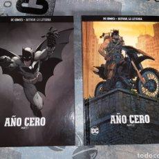 Cómics: BATMAN AÑO CERO , 2 VOLÚMENES, BATMAN LA LEYENDA, SALVAT ,ECC N° 1 Y 2. Lote 268433969