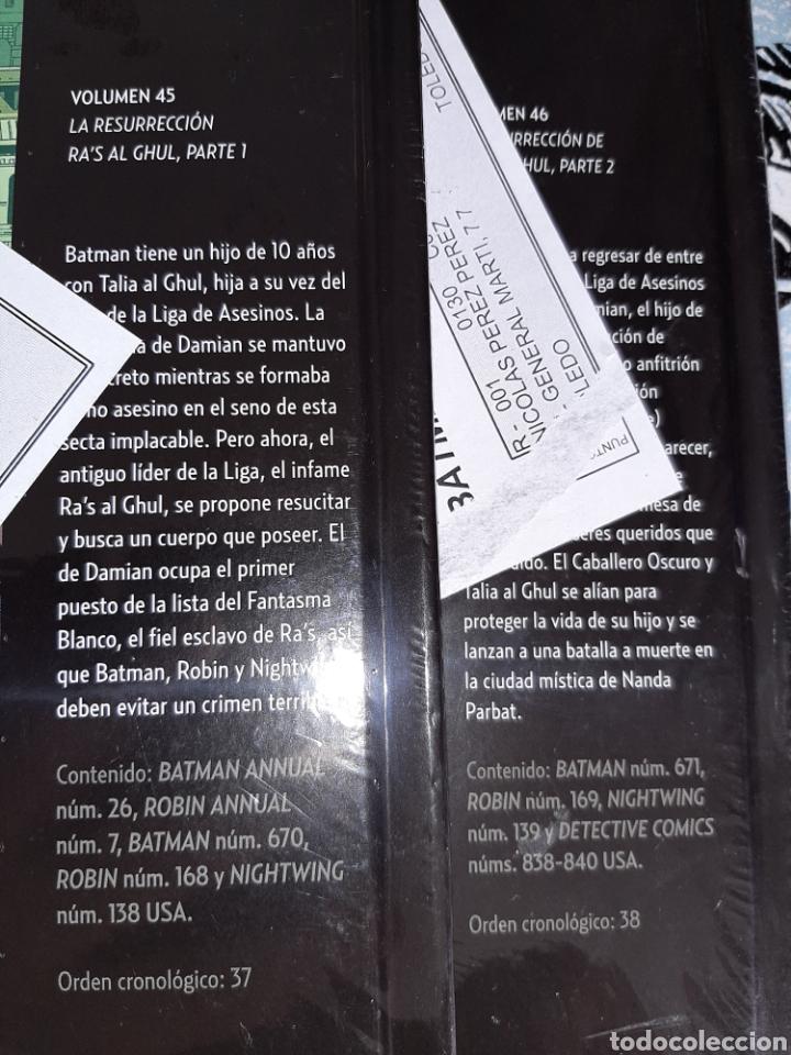 Cómics: La resurrección de Ras al Ghul , 2 volúmenes, Batman la leyenda, Salvat ,ECC n° 45 y 46 - Foto 2 - 268436714
