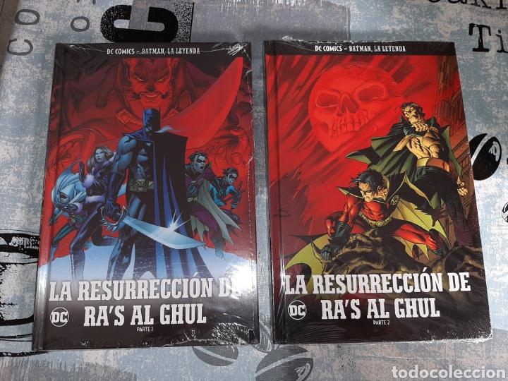 LA RESURRECCIÓN DE RA'S AL GHUL , 2 VOLÚMENES, BATMAN LA LEYENDA, SALVAT ,ECC N° 45 Y 46 (Tebeos y Comics - Comics otras Editoriales Actuales)