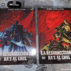 Cómics: LA RESURRECCIÓN DE RA'S AL GHUL , 2 VOLÚMENES, BATMAN LA LEYENDA, SALVAT ,ECC N° 45 Y 46. Lote 268436714