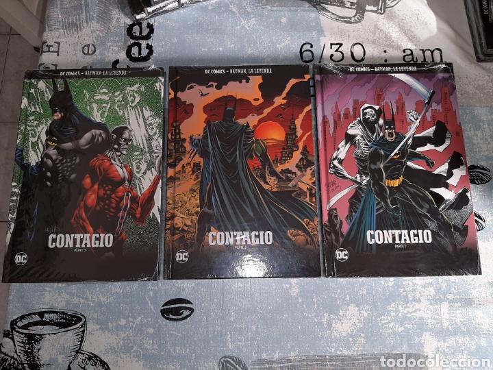 CONTAGIO , 3 VOLÚMENES, BATMAN LA LEYENDA, SALVAT ,ECC N° 42, 43 Y 44 (Tebeos y Comics - Comics otras Editoriales Actuales)