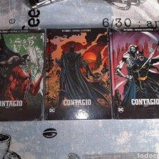 Cómics: CONTAGIO , 3 VOLÚMENES, BATMAN LA LEYENDA, SALVAT ,ECC N° 42, 43 Y 44. Lote 268440744