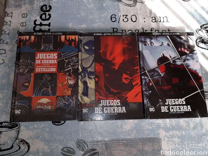 JUEGOS DE GUERRA , 3 VOLÚMENES, BATMAN LA LEYENDA, SALVAT ,ECC N° 14, 15 Y 16 (Tebeos y Comics - Comics otras Editoriales Actuales)