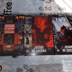 Cómics: JUEGOS DE GUERRA , 3 VOLÚMENES, BATMAN LA LEYENDA, SALVAT ,ECC N° 14, 15 Y 16. Lote 268441304