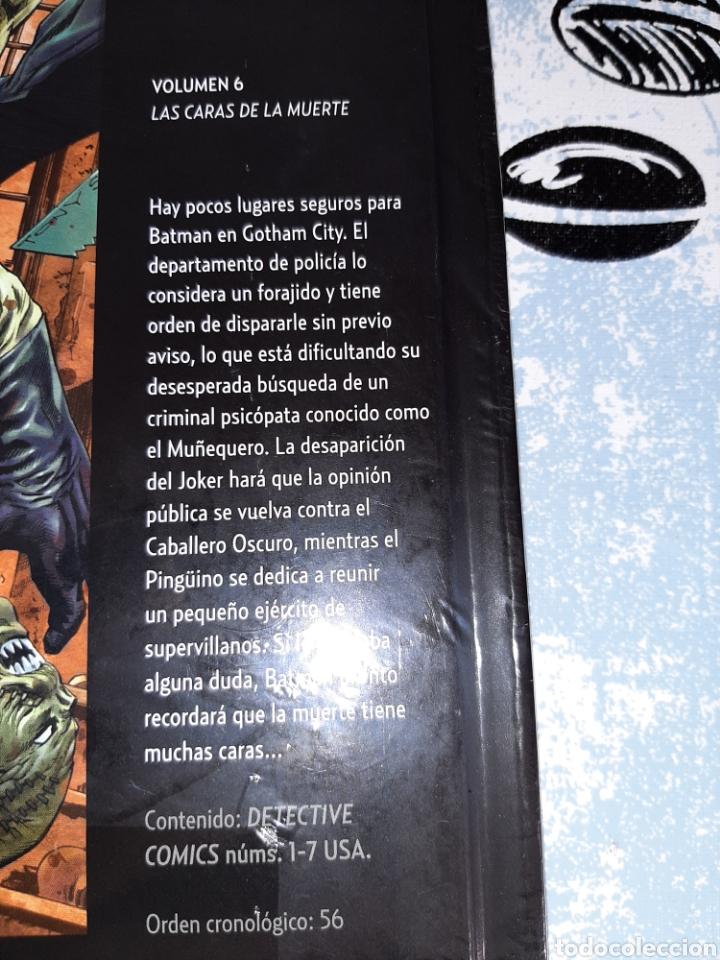 Cómics: Las caras de la muerte , Batman la leyenda, Salvat ,ECC n° 6 - Foto 2 - 268442884