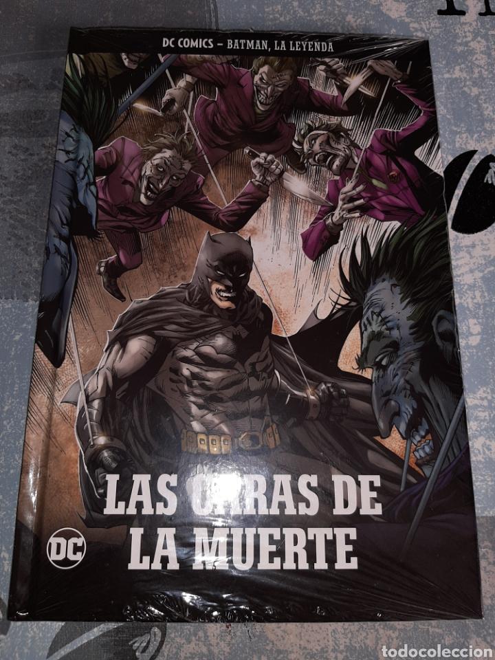LAS CARAS DE LA MUERTE , BATMAN LA LEYENDA, SALVAT ,ECC N° 6 (Tebeos y Comics - Comics otras Editoriales Actuales)