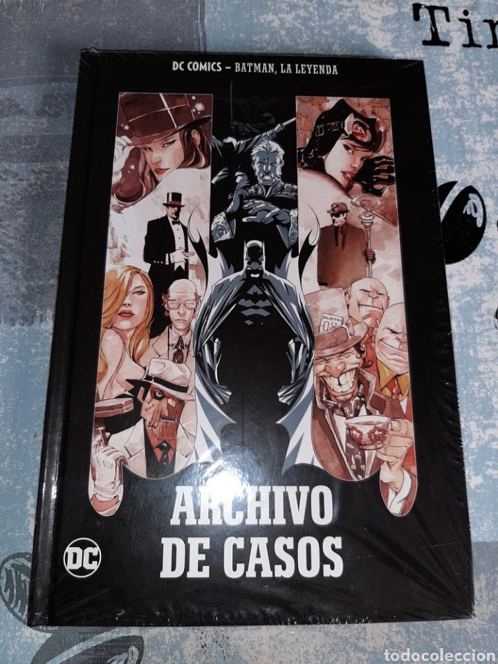 ARCHIVO DE CAOS , BATMAN LA LEYENDA, SALVAT ,ECC N° 13 (Tebeos y Comics - Comics otras Editoriales Actuales)