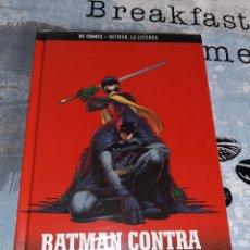 Cómics: BATMAN CONTRA ROBIN, BATMAN LA LEYENDA, SALVAT ,ECC N° 17. Lote 268446059