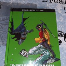 Cómics: ¡ BATMAN Y ROBIN DEBEN MORIR ! , BATMAN LA LEYENDA, SALVAT ,ECC N° 22. Lote 268447589