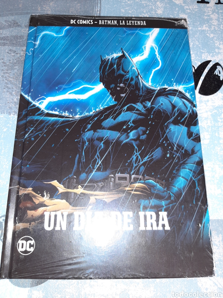 UN DÍA DE IRA , BATMAN LA LEYENDA, SALVAT ,ECC N° 34 (Tebeos y Comics - Comics otras Editoriales Actuales)