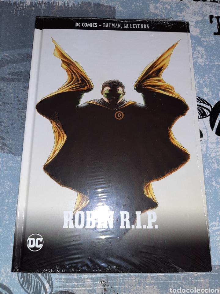 ROBIN R.I.P. , BATMAN LA LEYENDA, SALVAT ,ECC N° 37 (Tebeos y Comics - Comics otras Editoriales Actuales)