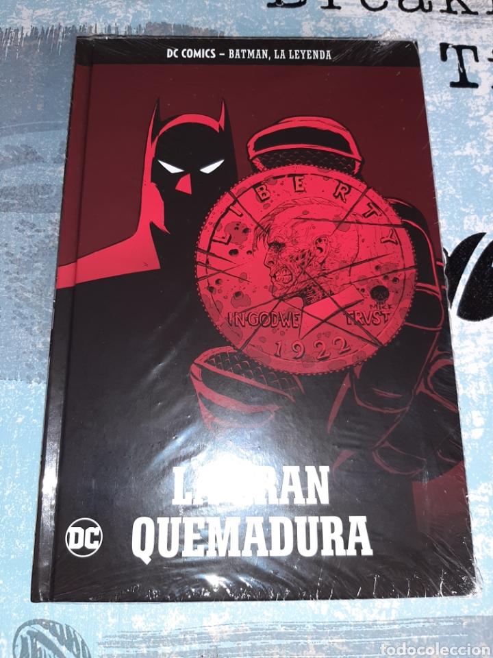 LA GRAN QUEMADURA , BATMAN LA LEYENDA, SALVAT ,ECC N° 38 (Tebeos y Comics - Comics otras Editoriales Actuales)