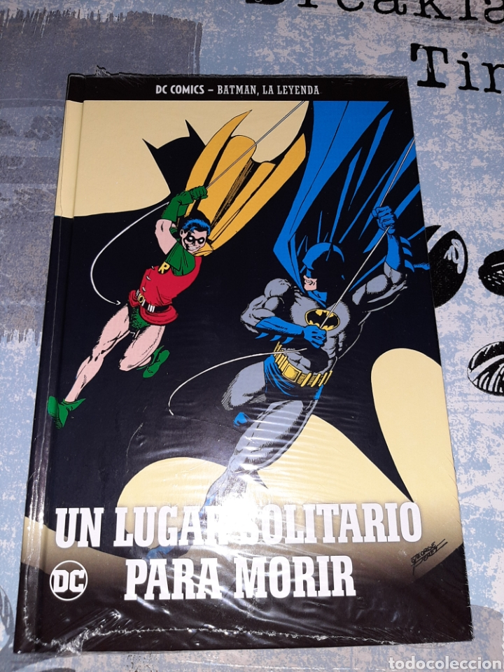 UN LUGAR SOLITARIO PARA MORIR , BATMAN LA LEYENDA, SALVAT ,ECC N° 40 (Tebeos y Comics - Comics otras Editoriales Actuales)