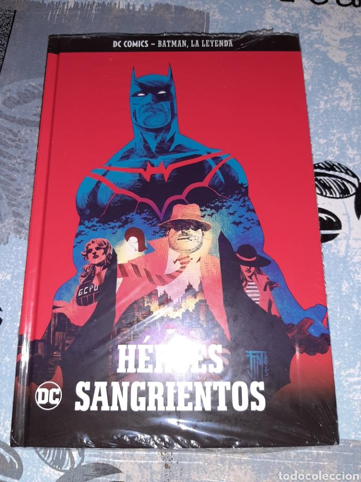 HÉROES SANGRIENTOS, BATMAN LA LEYENDA, SALVAT ,ECC N° 48 (Tebeos y Comics - Comics otras Editoriales Actuales)